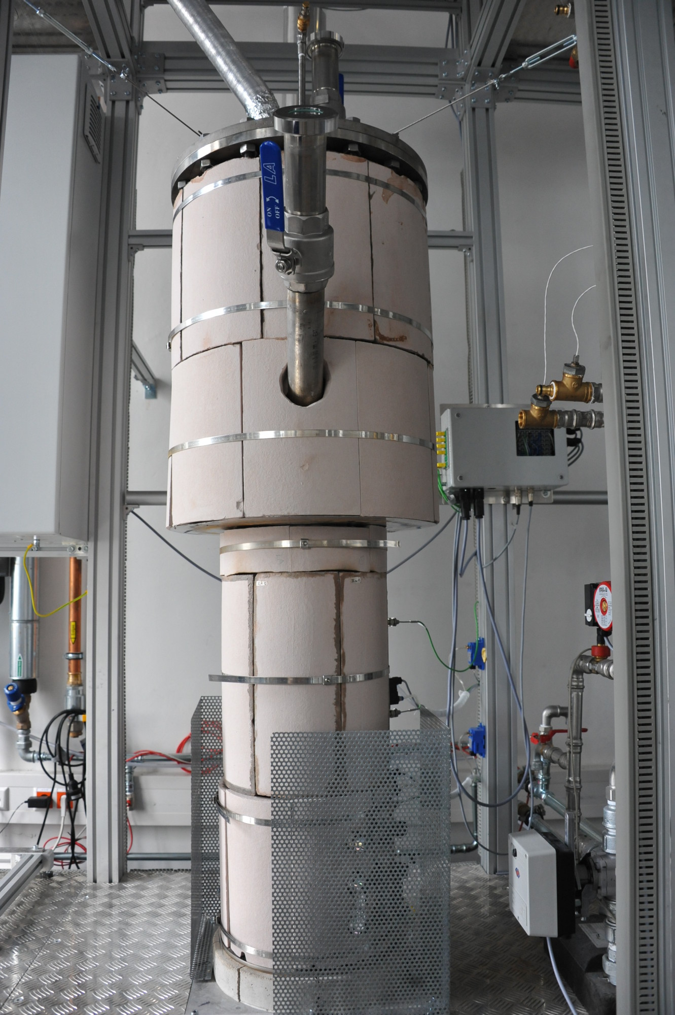 100 Kw Fluidized Bed Furnace Chair Of Energy Process