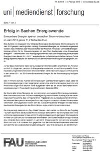 Pressemitteilung Energiepreisstudie